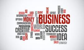 Success business idea marketing word cloud concept. Typography. Success business idea. Web marketing word cloud concept. Typography design text block Royalty Free Stock Image