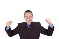 Success business man Stock Photos