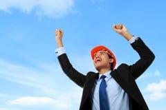 Success business man Stock Images