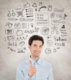 Success business management Stock Photos