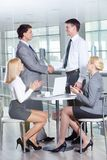 Success in business Royalty Free Stock Image