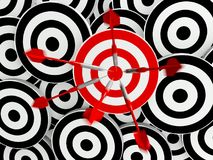 Success business target Royalty Free Stock Photo