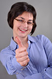Success business woman Stock Photography