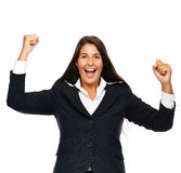 Success business woman Royalty Free Stock Image