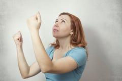Success business woman Stock Image
