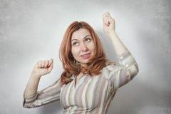 Success business woman Royalty Free Stock Photos