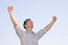 Success businessman Royalty Free Stock Image