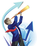 Success businessman Stock Photography