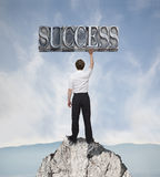 Success 2 Royalty Free Stock Photography