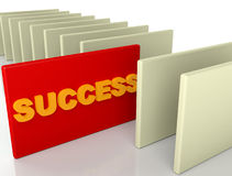 Success Card Royalty Free Stock Photo