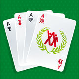 Success cards Royalty Free Stock Images