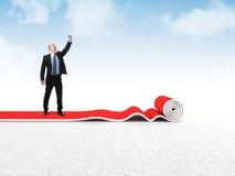 Success carpet Stock Photography