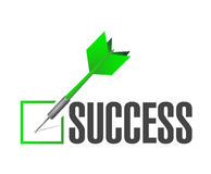 success check dart illustration design Stock Images