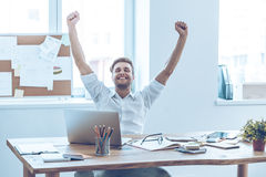 This is success! royalty free stock photo