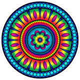 Success colored mandala. Succes colored mandala for relax time Stock Images