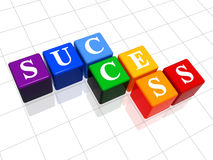 Success in colour Stock Image