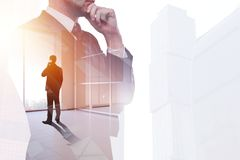 Success and communication concept Stock Image