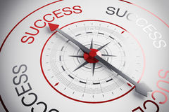 Success compass Royalty Free Stock Photography