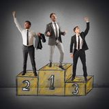 Success competition Royalty Free Stock Image