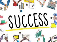 Success Competition Winning Mission Motivation Concept Royalty Free Stock Photos
