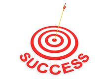 Success Concept. Concept in 3D Stock Photo