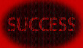 Success concept. Related words on success background Stock Image