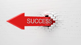 Success Concept Background Royalty Free Stock Photo