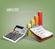 Success  concept. Business  finance success  concept. This is file of EPS10 format Royalty Free Stock Photo