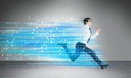 Success concept digital code Stock Photos