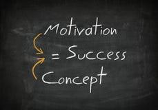 Blackboard success concept Stock Photo