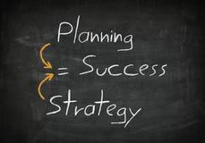 Blackboard success concept Stock Images