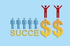 Success concept Royalty Free Stock Images