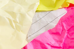 Success concept and idea crumpled paper space for text Royalty Free Stock Photography