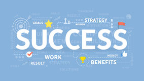 Success concept illustration. Stock Image