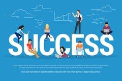 Success concept illustration Stock Photos