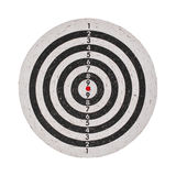 Success concept, target on dartboard Stock Photos