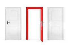 Success Concept. Three Doors Royalty Free Stock Photo