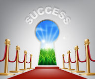 Success conceptual illustration Royalty Free Stock Image