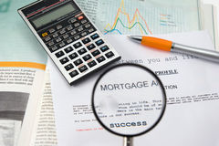 Success in a contract Stock Images
