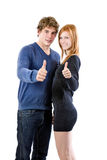 Success couple Stock Photography