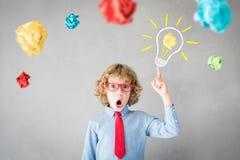 Success, creative and idea concept royalty free stock photos