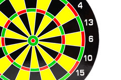 Success: dartboard and darts in bulls-Eye Royalty Free Stock Photography