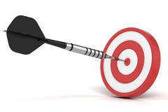 Success darts Royalty Free Stock Images