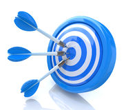 Success darts Royalty Free Stock Image