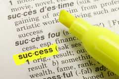 Success Definition Stock Photos