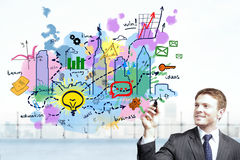 Success and development concept Stock Photo