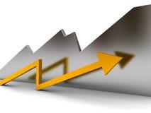 Success diagram Stock Images