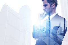 Success and employment concept Royalty Free Stock Photography