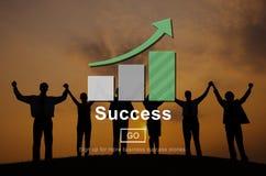 Success Excellence Accomplishment Achievement Concept.  Stock Image