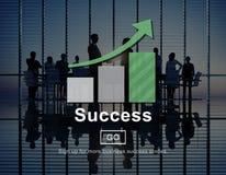 Success Excellence Accomplishment Achievement Concept. Business People Success Excellence Accomplishment Achievement Stock Photo